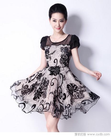 真丝连衣裙 奢华高贵大牌气质
