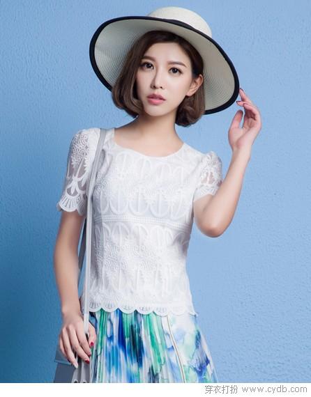夏天穿白色最降温,不服来战!