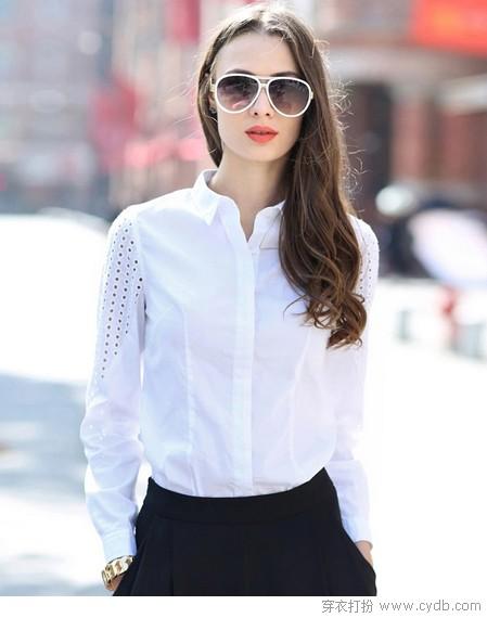 365天都穿白衬衫