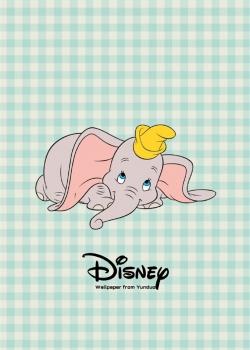迪士尼小飞象可爱高清手机壁纸