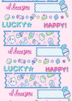 粉色萌物可爱卡通手机壁纸图片