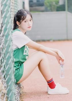 球服美女青春活力写真图片