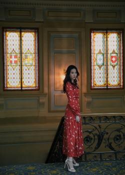 刘亦菲古典风唯美写真图片