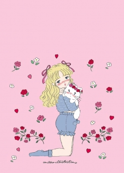 甜美少女心可爱手机壁纸图片