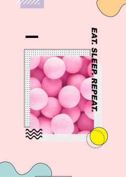 清甜粉色少女心可爱手机壁纸