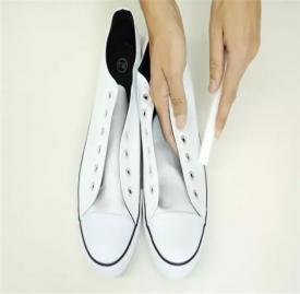 白鞋的清洗妙招